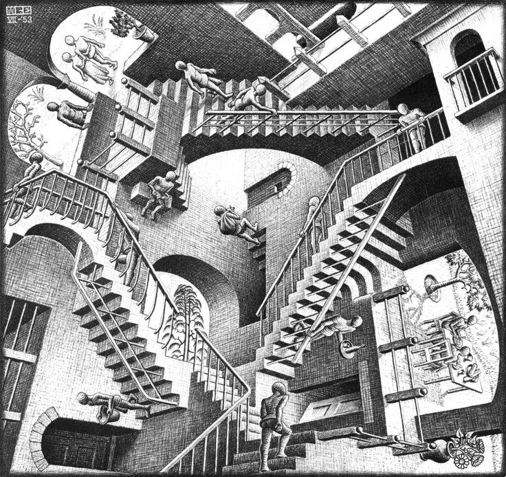 Drawn m.c.escher dinosaur Escher about 119 M best