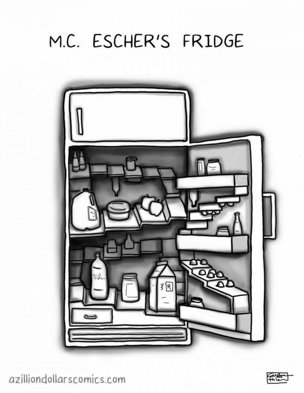 Drawn m.c.escher funny #10