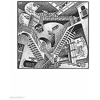 Drawn m.c.escher goku #7