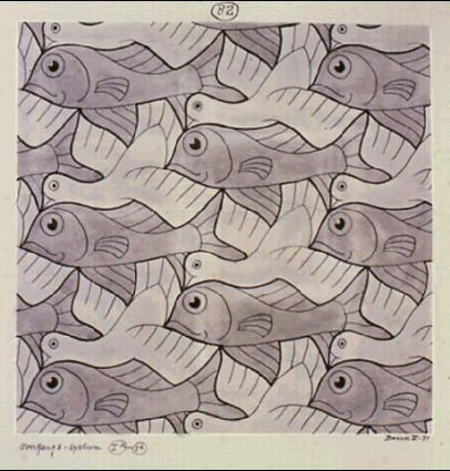 Drawn m.c.escher naruto On M MC by Escher