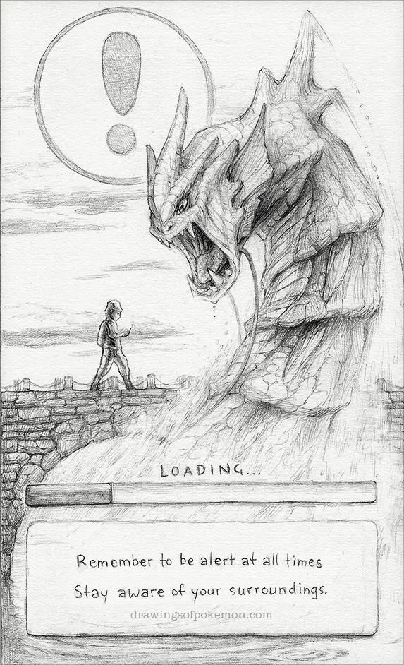 Drawn m.c.escher pokemon #12