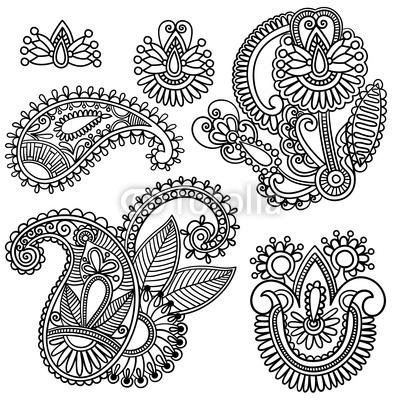 Drawn mehndi abstract Mehndi Hand Design Pinterest