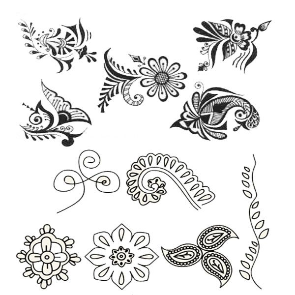 Drawn simple henna Chilli Henna To Designs and