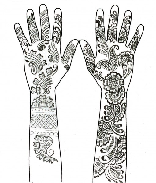 Drawn mehndi beginner Simple Simple Drawing Drawing Mehndi