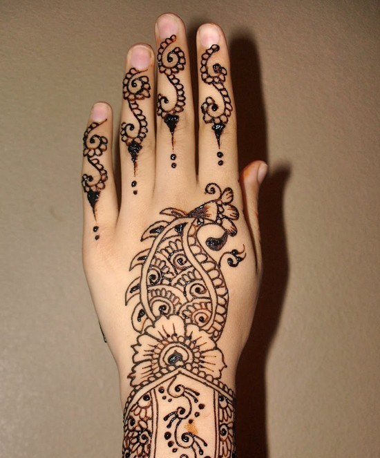 Drawn mehndi beginner How Beginners Designs For Step