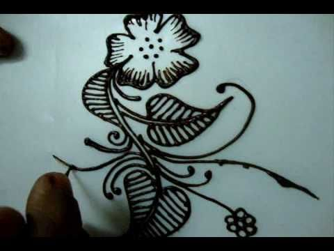 Drawn mehndi beginner Draw diy tutorial henna Pinterest