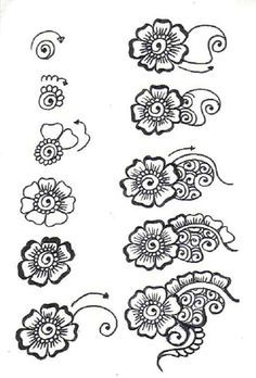 Drawn mehndi beginner Search Heena step for by