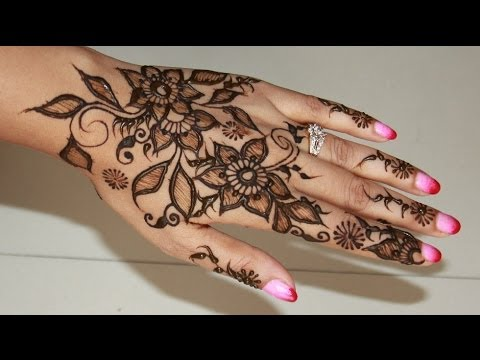 Drawn mehndi beginner Chauth Design Henna/Mehendi Draw Chauth
