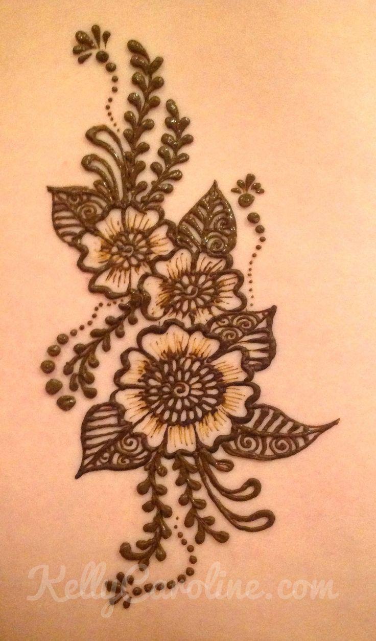 Drawn mehndi big flower Flower 25+ flower artist ideas