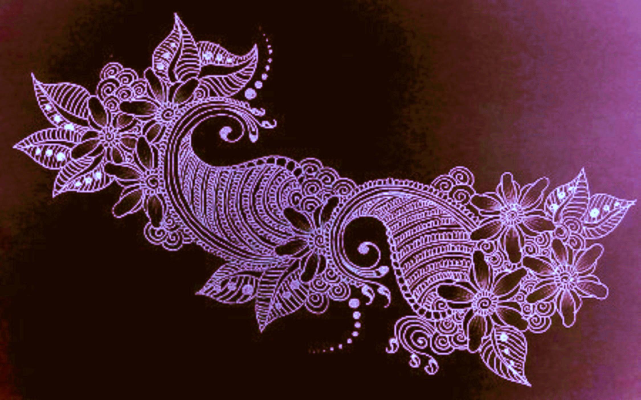 Drawn mehndi fast Drawing Mehndi Drawing