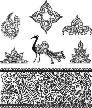 Drawn mehndi fast Patterns tattoo henna fast ideas