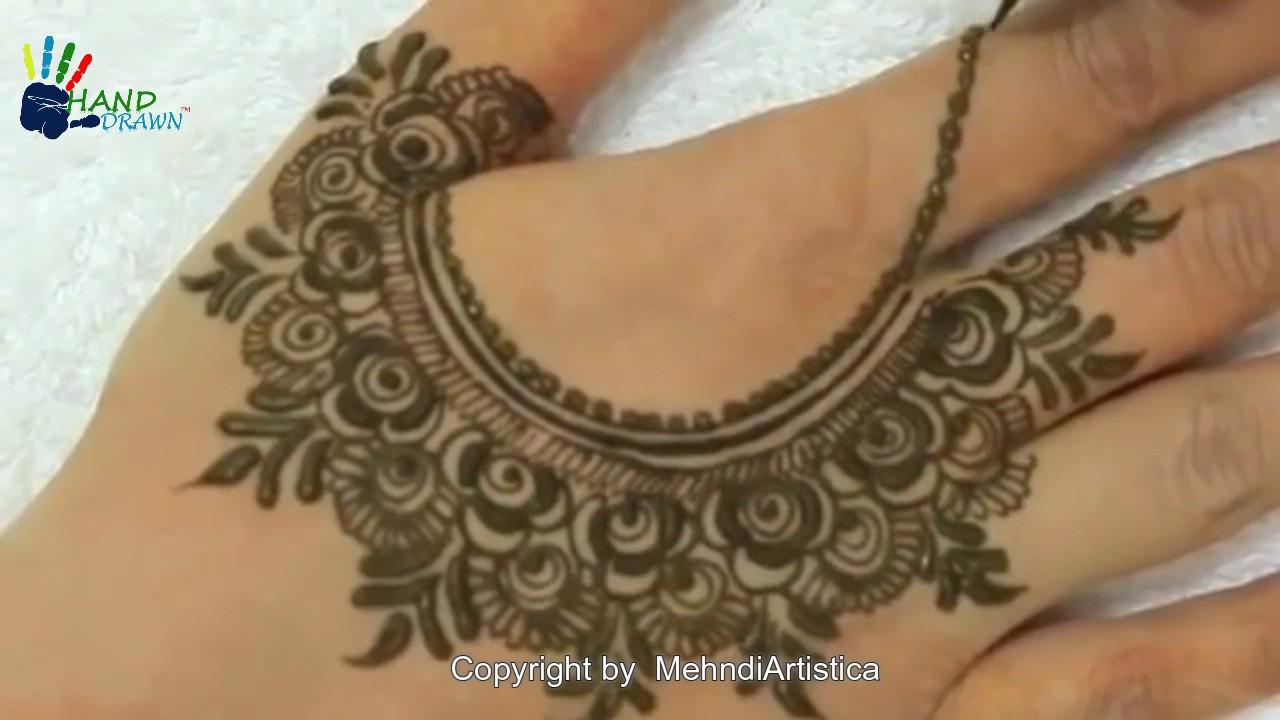 Drawn mehndi fast Stylish Hands For Henna Elegant