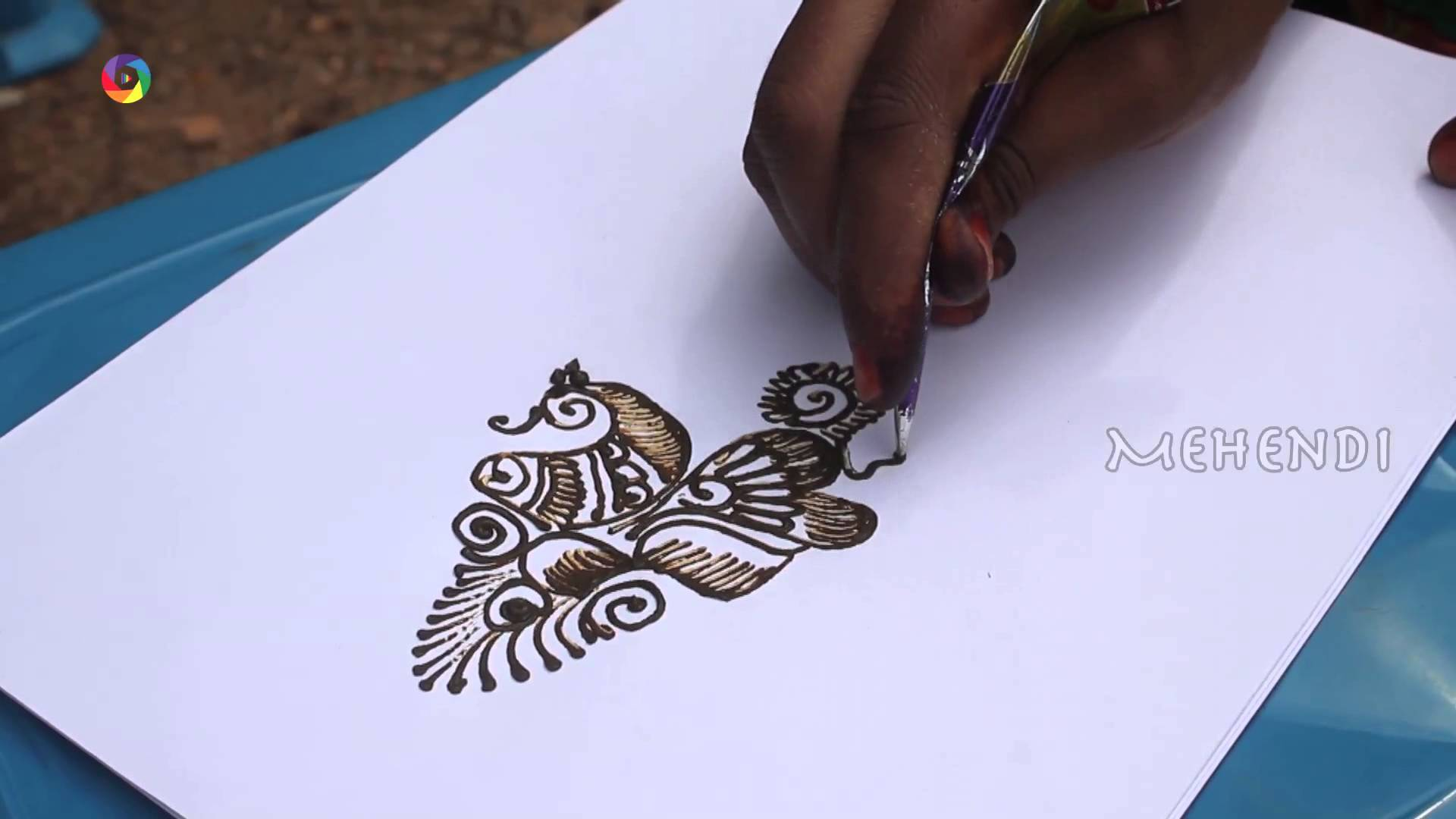 Drawn mehndi fast Design Mehendi Arabic Draw How