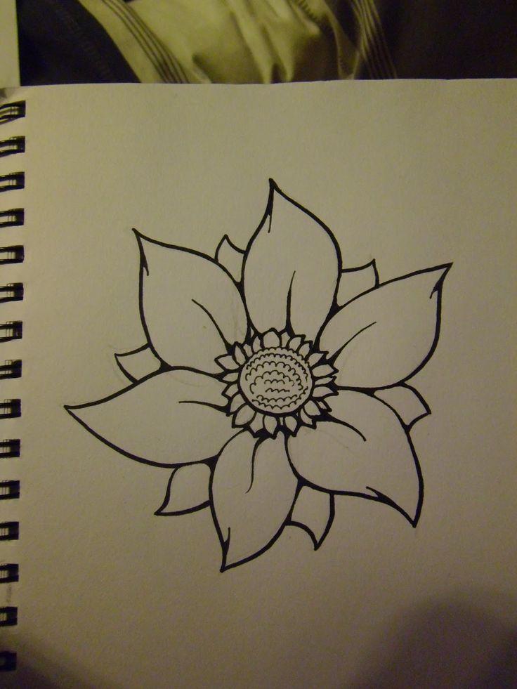 Drawn cilff simple Flowers To Beautiful Flowers Draw