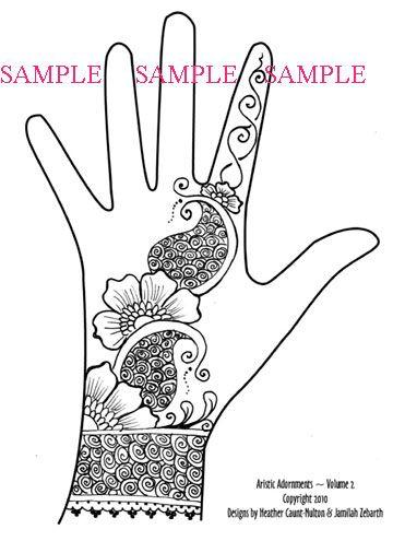 Drawn mehndi hand Best 39 floral Pinterest wrist