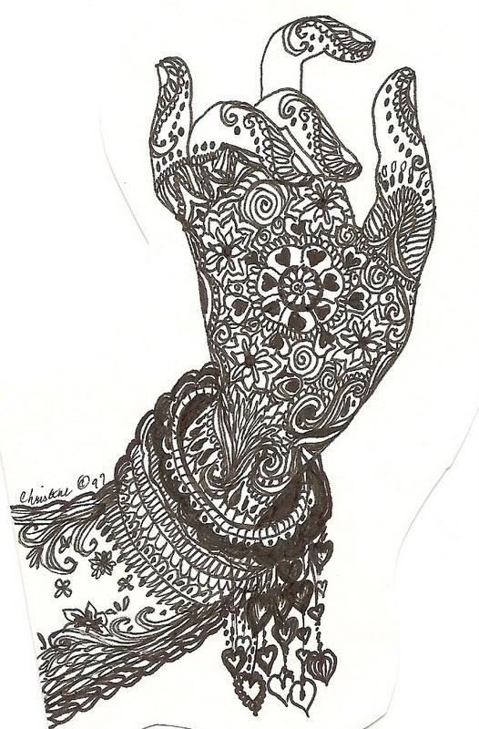 Drawn mehndi hand Mehndi Mehndi Mehndi Pinterest Mehndi