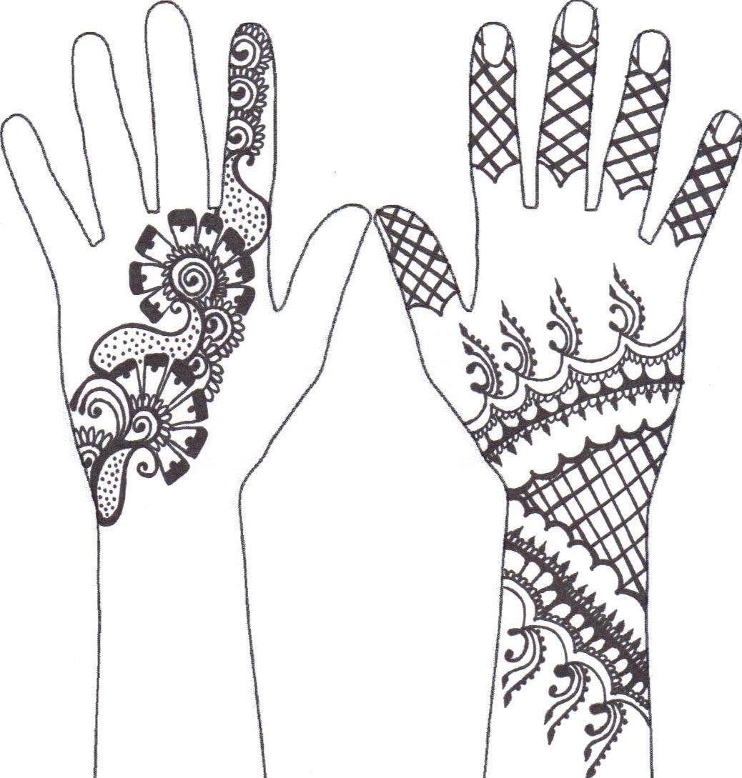 Drawn mehndi hand Check more at Check out