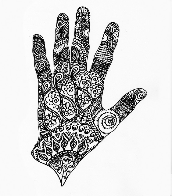 Drawn mehndi hand Doubling Pinterest as images about