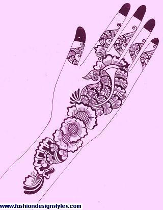 Drawn mehndi hand  Mehndi Hand On Drawing