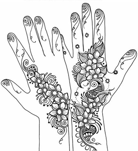 Drawn simple henna 2012 Mehndi Mehndi Patterns 40