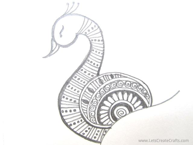 Drawn simple henna Henna / Tutorials LetsCreateCrafts Design