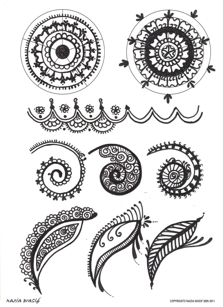 Drawn mehndi intricate Stock Learn Henna Pinterest Henna