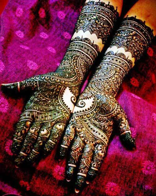Drawn mehndi intricate Rajasthani 10 Intricate Pinit Designs