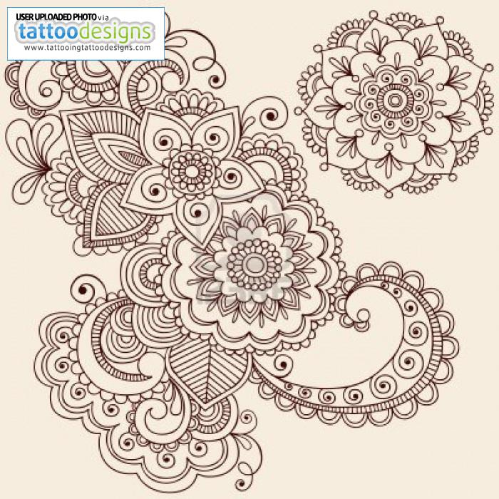 Drawn mehndi intricate Flowers Intricate Abstract Abstract Intricate
