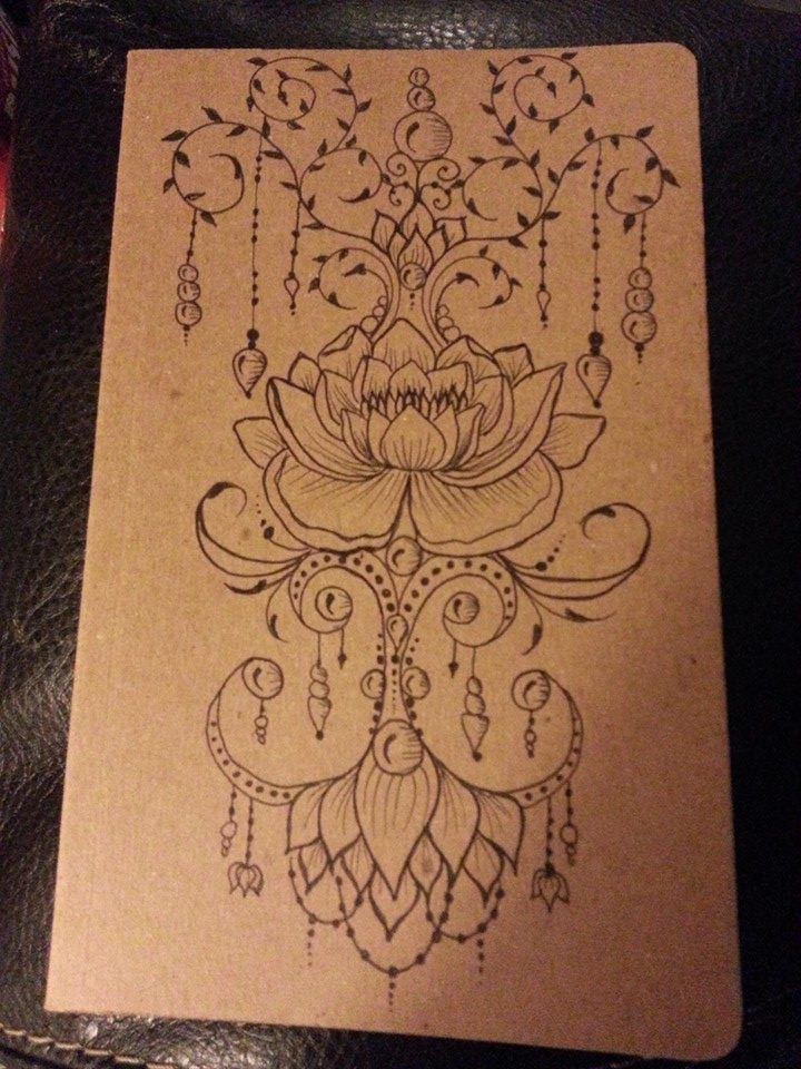 Drawn mehndi lotus flower Images journal JamilahHennaCreations Pinterest designs
