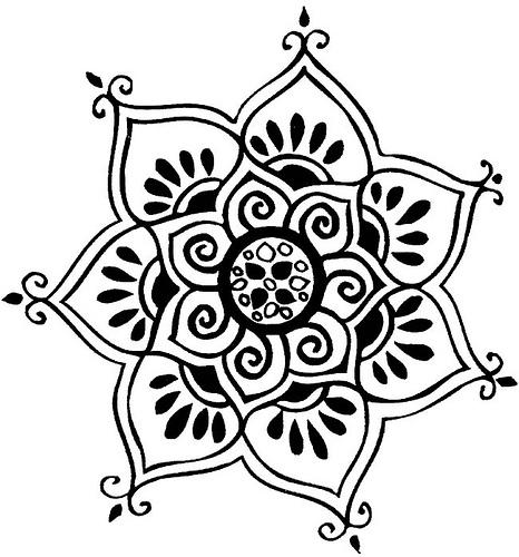 Drawn mehndi lotus flower Flower we Lotus Lotus Like