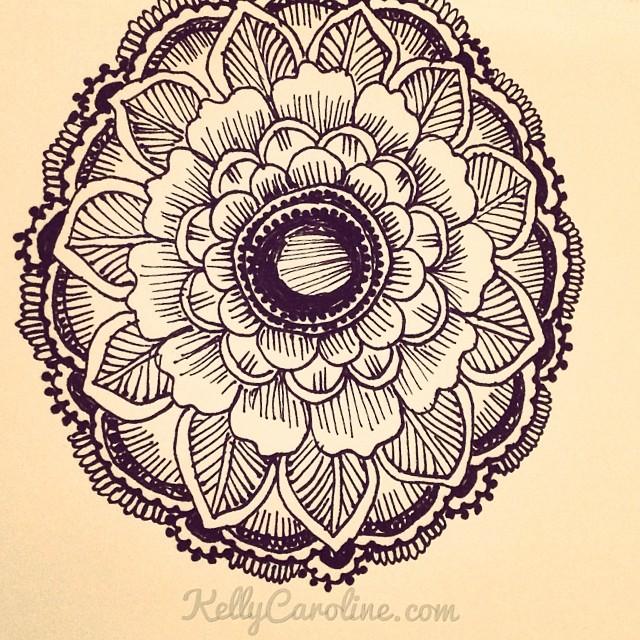 Drawn mehndi By tattoo Kelly #mehndi a