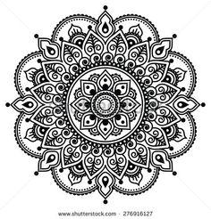 Drawn mehndi Designs RedKoala Henna Printable With