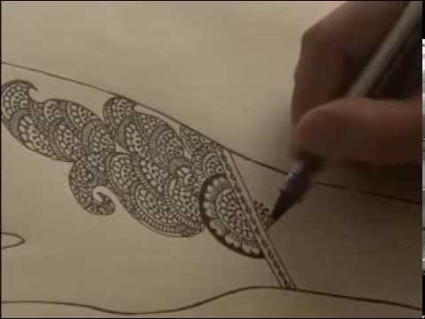 Drawn mehndi sketch Sketch Mehandi YouTube Design 2