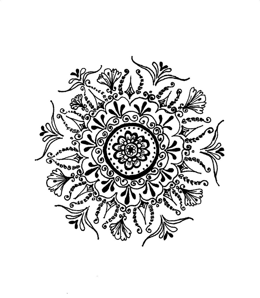 Drawn mehndi sun By kegome1994 kegome1994 Henna Henna