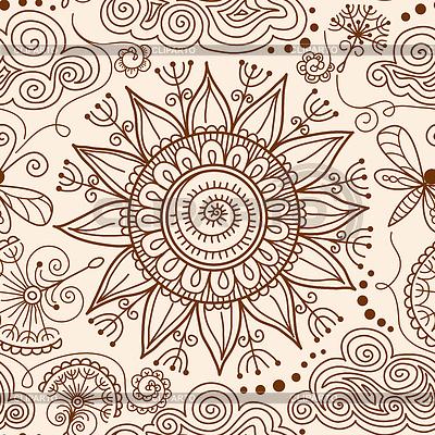 Drawn mehndi sun Tattoo Henna pattern mehndi hand
