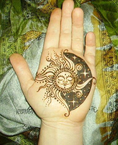 Drawn mehndi sun Of Malynda Moon Tomassian henna