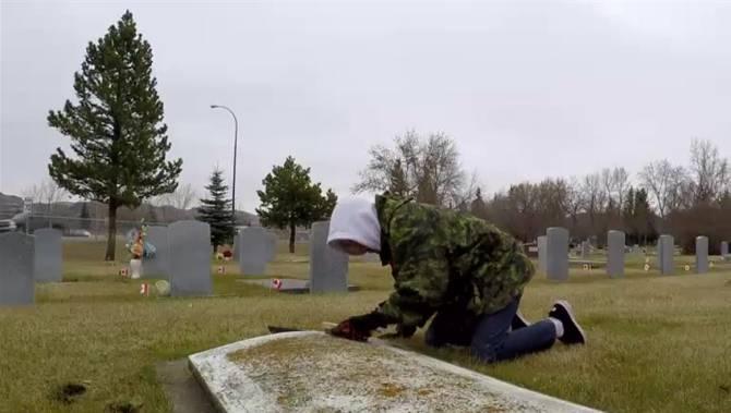 Drawn men grave #14