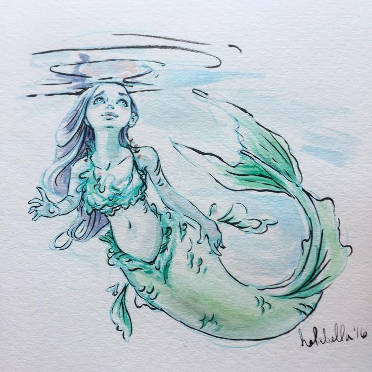 Drawn mermaid Drawings ideas Best Mermaid 25+