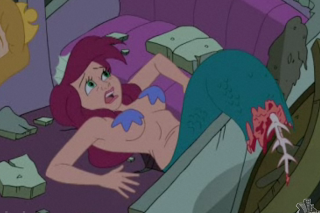 Drawn mermaid hard Tries Drawn of confronting Together