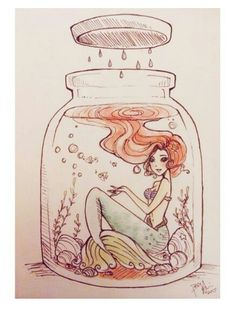 Drawn mermaid hard Drawing Awesome and More Cloud