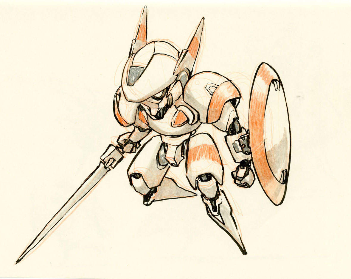 Drawn amd robot Jake Concept by  robot