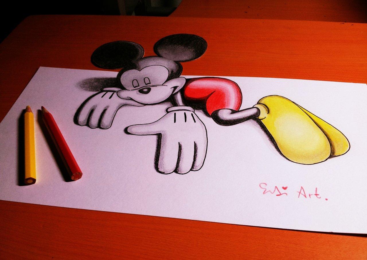 Drawn 3d art 3d animation #2