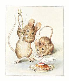 Drawn rodent beatrix potter Illustrations adult potter Young illustrations