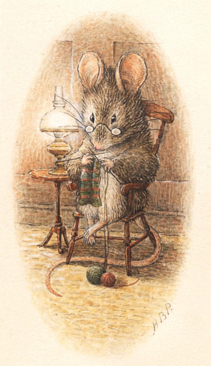 Drawn rodent beatrix potter Potter Cottage Mouse a Beatrix
