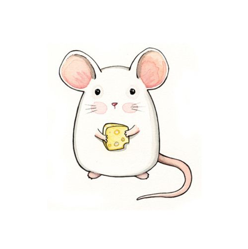 Drawn rodent child Search Cheese Free Little Draws