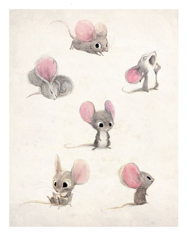 Drawn rodent adorable Find more and this illustration