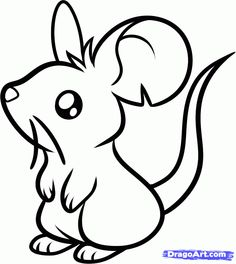 Drawn rodent baby mouse By step by Google a