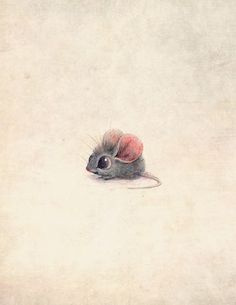 Drawn mice cute #4