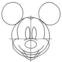 Drawn amd mickey mouse Easy instructions How Drawings on