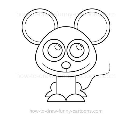 Drawn rat funny A draw to How a